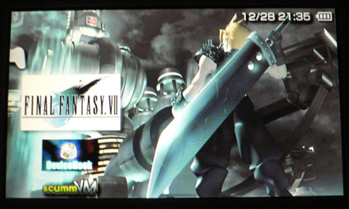 Final Fantasy VII on PSP
