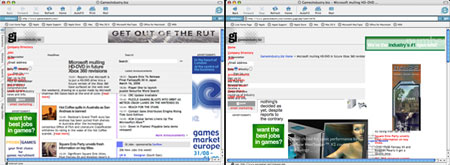 GamesIndustry.biz on IE