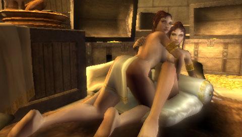 God Of War Naked Scene