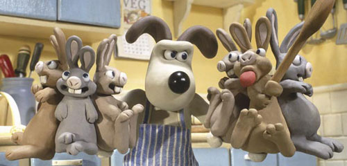 Gromit vs the Bunnies