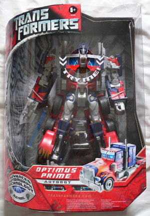 Movie Leader Optimus Prime