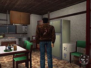 Ryo in the Hazuki kitchen