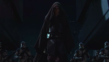 Anakin marches on the Jedi Temple