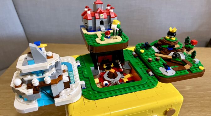 Building the Lego Super Mario 64 Question Block