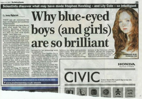 Daily Mail Aryans