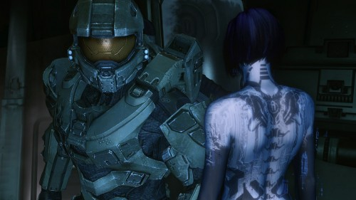 Halo 4 cut-scene