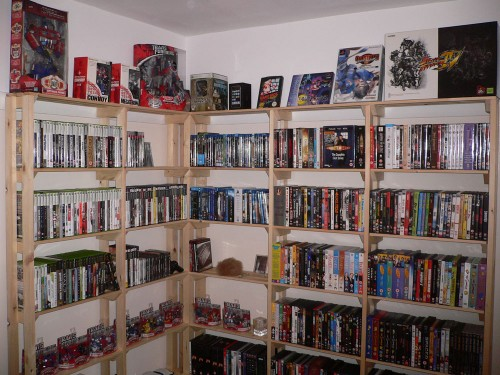 Games Room Shelving