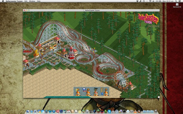 Rollercoaster Tycoon on a Mac
